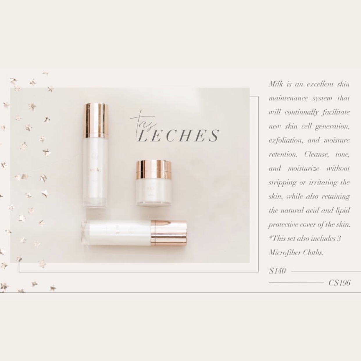 tres leches skincare bundle maskcara beauty mothers day 2019 tauritucker.com
