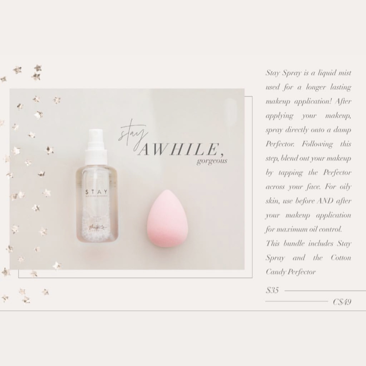 stay spray perfector sponge maskcara beauty mothers day bundle 2019 tauritucker.com