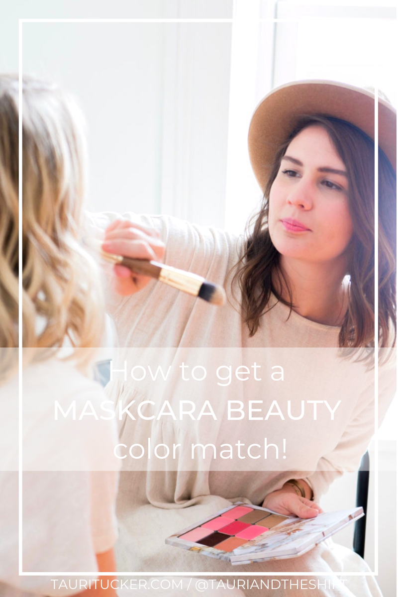 how to get a maskcara beauty color match makeup brush makeup palette tauritucker.com