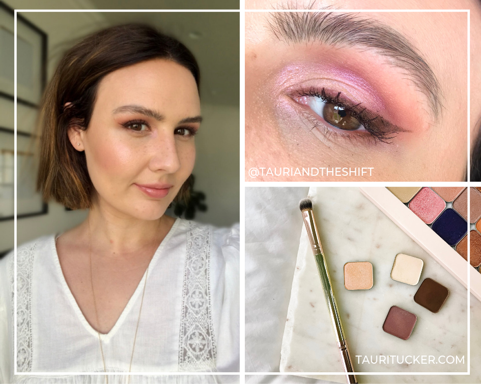 mothers day eyeshadow look glowing shadows bundle maskcara beauty tauritucker.com