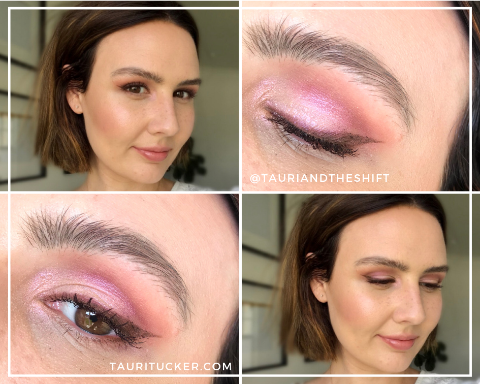 mothers day eyeshadow look using maskcara beauty glowing shadows bundle tauritucker.com